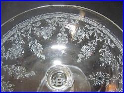 10 Coupes Champagne Cristal Grave XIX E Baccarat St Louis