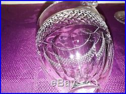 10 verres saint louis trianon hauteur 13.7 cm