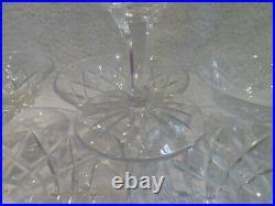 11 coupes à champagne cristal de saint louis mod Adour French crystal champagne