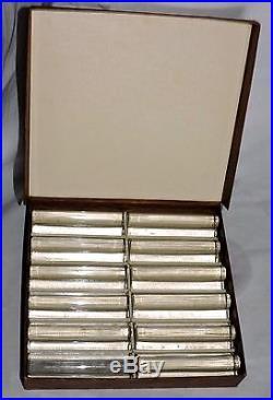 12 Portes Couteau Modele Trefle En Cristal De St Louis France Estampilles