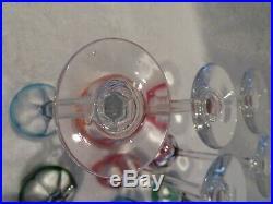 12 verres à liqueur cristal saint louis overlay bristol crystal vodka glasses