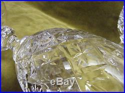 12 verres à eau cristal de Saint Louis etoiles (crystal water glasses)