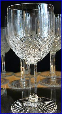 12 verres à eau cristal saint louis modele roty tres bel etat