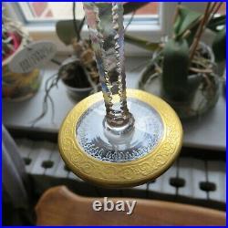 1 verres a vin en cristal de saint louis modèle thistle signé H 14,7