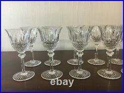 29 verres à vin blanc modèle Tommy en cristal de Saint Louis (prix à la pièce)