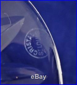2 suite de 6 verres à eau cristal de SAINT LOUIS Camargue Réf A20/35