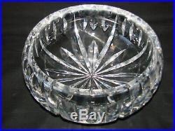 3,2 kg de cristal Coupe saladier en cristal taillé signé Saint Louis