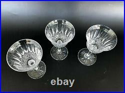 3 VERRES A PORTO / VIN BLANC CRISTAL DE SAINT LOUIS MODELE TOMMY H 13,5 cm