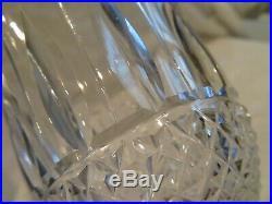 4 verres à bordeaux cristal Saint Louis Tommy crystal bordeaux wine glasses