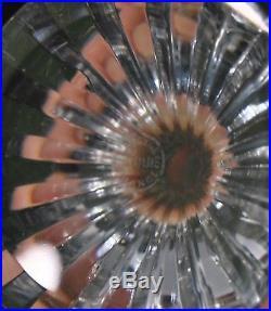 6 SUPERBES FLUTES cristal Saint-Louis modèle FONTAINEBLEAU signées