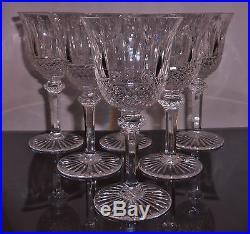 6 superbe et ancien verre a vin en cristal de saint louis modele tommy verres cristal st louis. Black Bedroom Furniture Sets. Home Design Ideas