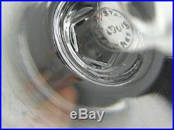 6 VERRES A VIN CRISTAL SAINT LOUIS MODELE CERDAGNE 16 cm