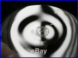 6 VERRES A VIN EN CRISTAL SAINT LOUIS MODELE MASSENET SIGNES ht 14 cm