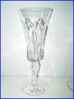 6 verres flutes a champagne st louis modele camargue cristal saint louis verres cristal st. Black Bedroom Furniture Sets. Home Design Ideas