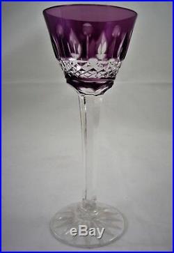 6 VERRES à liqueur CRISTAL ST LOUIS Baccarat réf A24/2