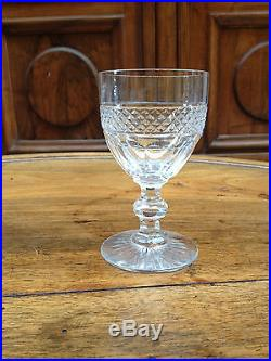 6 verres porto cristal de saint louis mod le trianon. Black Bedroom Furniture Sets. Home Design Ideas