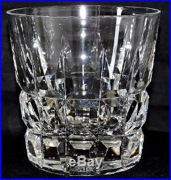 6 Verres A Whisky En Cristal De St Louis Manhattan