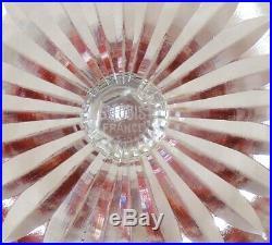 6 Verres Du Rhin Roemer Bristol En Cristal De St Louis Estampilles 18.5 CM