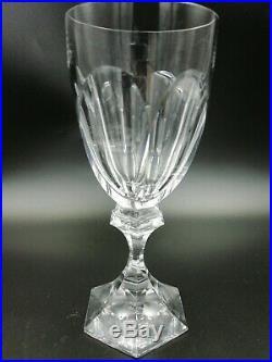 6 Verres Vin Rouge Cristal Saint Louis Chambord