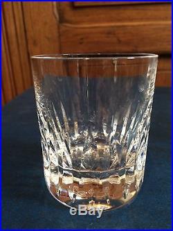 6 verres whisky en cristal sign s saint louis verres cristal st louis - Verres a whisky en cristal ...