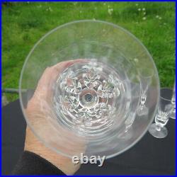 6 flûtes à champagne en cristal de saint louis jersey pour le paquebot France 2