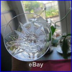 6 flûtes à champagne en cristal de saint louis modèle Tarn