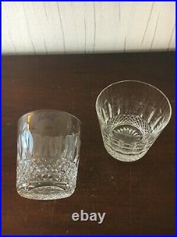 6 verres à Whisky Tommy cristal de Saint Louis (prix à la pièce)