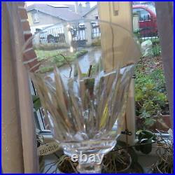 6 verres à eau en cristal de saint louis modèle gironde signé H 15,6 CM