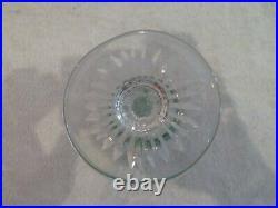 6 verres à liqueur cristal overlay Saint Louis Tommy crystal vodka glasses