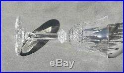6 verres à liqueur en cristal taillé Saint-Louis modèle Tommy estampillé