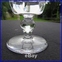 6 verres a vin en cristal de saint louis modèle jersey pour le paquebot France 2