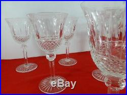 6 verres à vin rouge SAINT LOUIS modèle TOMMY estampillés 17 cm