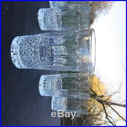 6 verres chopes a orangeade en cristal de saint louis modèle tommy