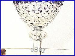 6 verres couleur cristal SAINT LOUIS modèle TOMMY (grand modèle 19,8)