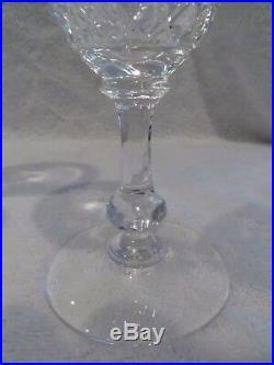 6 verres vin Bourgogne cristal Saint Louis Massenet Boite crystal wine glasses