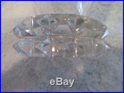 7 verres à eau 20cl cristal de saint louis Diamants (crystal water glasses) jl