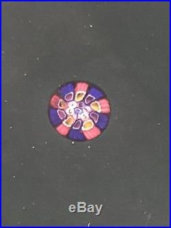 Ancien presse-papier sulfure cristal cristalerie Saint Louis 1987, paperweight