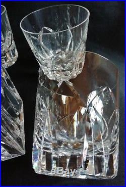 Ancien service à whisky en cristal de St Louis modèles camargue verres et carafe