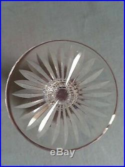 ++ Ancien verre roemer cristal de SAINT LOUIS modèle TOMMY violet ++