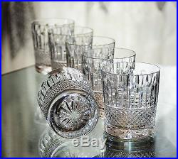 Anciens 6 Verres Whisky Cristal Taille Tommy St. Louis Offre Disponile