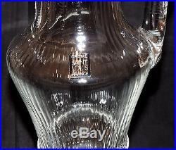 saint louis ancien broc a eau pichet carafe modelle tarn verres cristal st louis. Black Bedroom Furniture Sets. Home Design Ideas