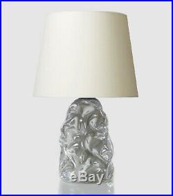 Baccarat Lampe Rocher Lalique Saint Louis Era