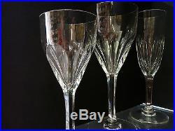 Beau Service Cristal Saint Louis Modele Bristol Flutes Verres A Eau Signes