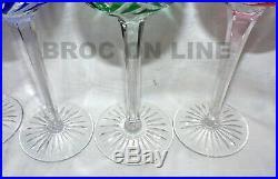 Belle Serie De 6 Verres Du Rhin Roemer En Cristal De St Louis Estampilles