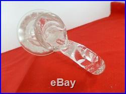 Belle carafe décanteur aiguière SAINT LOUIS modèle TOMMY estampillés 38,8 cm