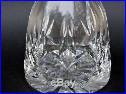 Belle carafe en cristal de Saint Louis signé