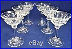 Belle suite de 6 coupes champagne cristal de Saint LOUIS Tommy 14,8 cm réfA27/17