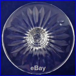 Belle suite de 6 verres à vin blanc cristal de Saint LOUIS Tommy 15 cm réfA19/3