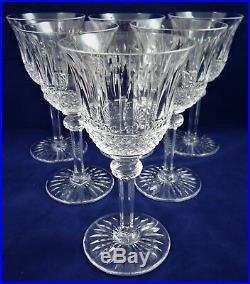 Belle suite de 6 verres à vin blanc cristal de Saint LOUIS Tommy 15 cm réfA27/17