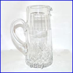 Broc à eau MASSENET de SAINT-LOUIS Pichet Canette en Cristal taillé! 25,5cm Ht
